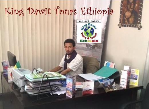King Dawit Tours Ethiopia Manager