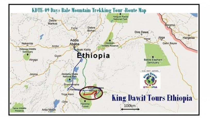 Ethiopia Bale Mountain