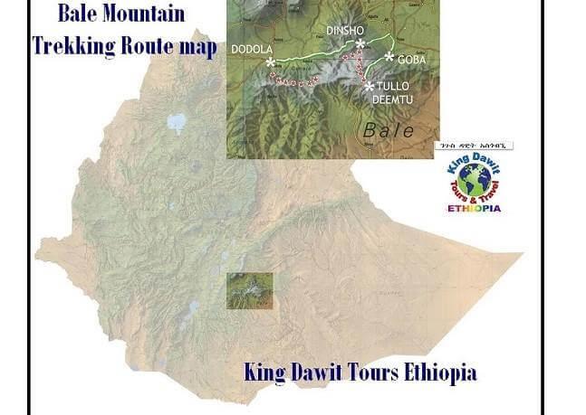 Bale mountain Trekking, Ethiopia Bale Mountains